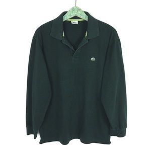 Lacoste Long Sleeve Polo Shirt 7 XXL Green